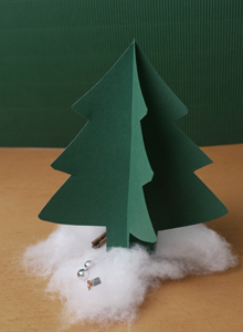 Basteln Zu Weihnachten Weihnachtsbäume Weihnachtssterne Ytti