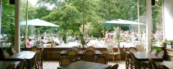 Sommerausflug mit kindern café am neuen see berlin tiergarten