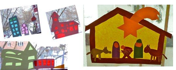 basteln zu weihnachten fensterbilder mit transparentpapier ytti. Black Bedroom Furniture Sets. Home Design Ideas