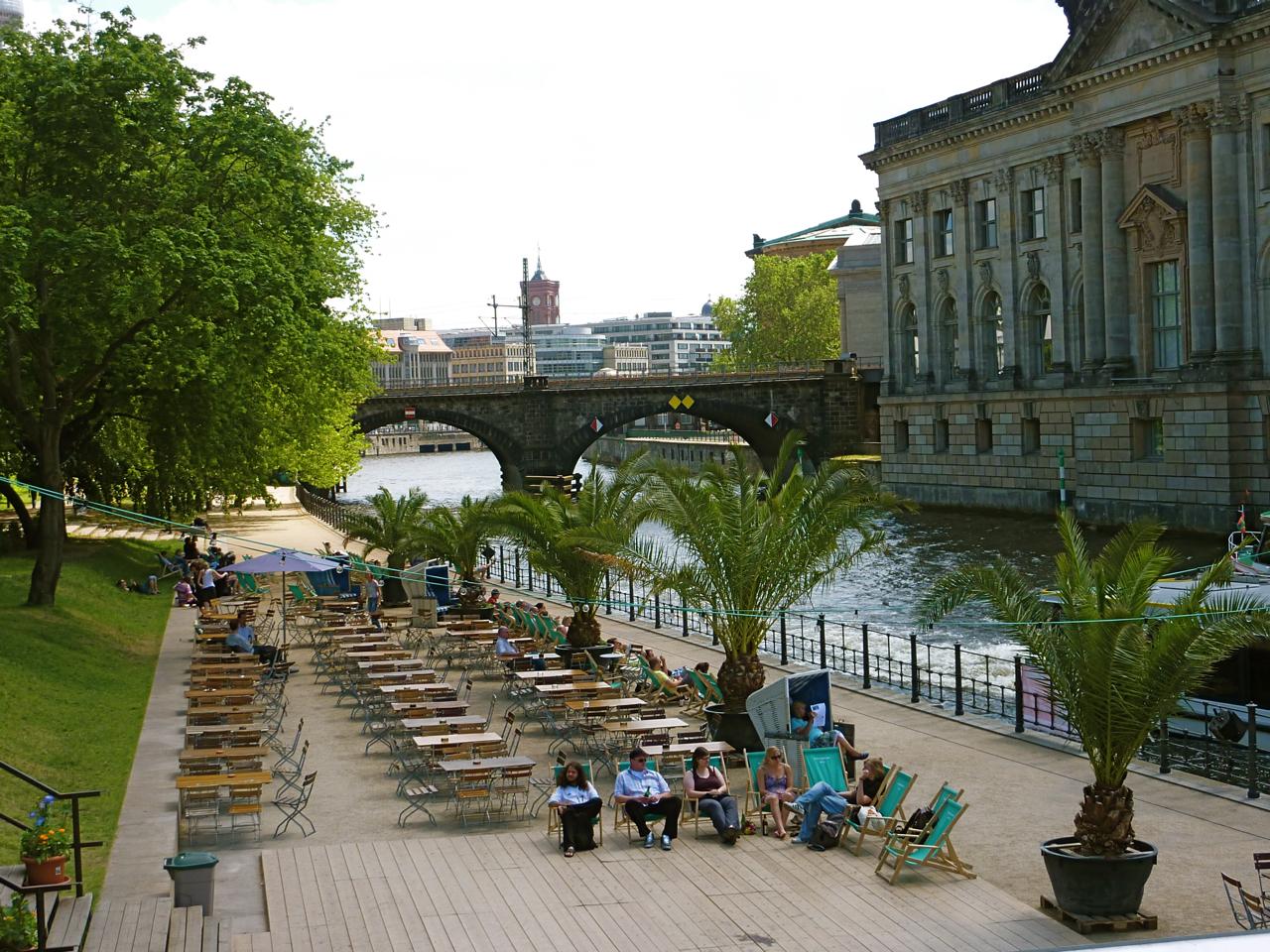 Cafe Monbijoupark Berlin