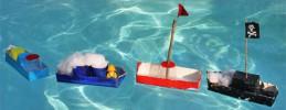 Basteltipp Boote aus Milchkartons © ytti.de