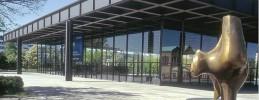 Abschied von der Neuen Nationalgalerie am Potsdamer Platz
