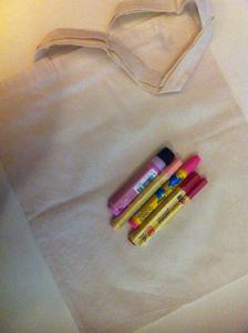 muttertagsgeschenk basteln mit kindern textilbeutel einfach schnell und sch n ytti. Black Bedroom Furniture Sets. Home Design Ideas