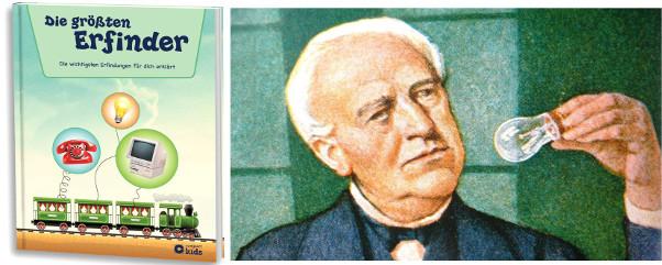 Thomas Edison, Erfinder der Glühbirne