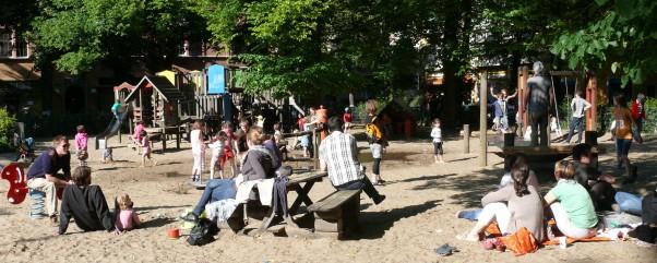 Der Rüdesheimer Spielplatz