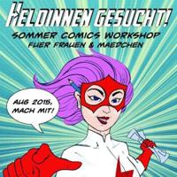 Heldinnen gesucht! Comic Workshop für Mädchen bei Digital Storytellers in Prenzlauer Berg