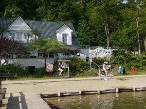 Der Obersee im Naturpark Barnim - ein schöner kleiner See mit ausgezeichneter Wasserqualität