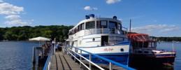 Ausflugslokal an der Havel-Wannsee - das Restaurantschiff Alte Liebe