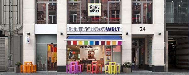 Ritter Sport Bunte Schokowelt Berlin Fassade