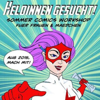 Heldinnen gesucht! Comic Workshop für Mädchen in Prenzlauer Berg (10-13 Jahre)