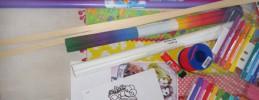 Drachen selbst bauen mit Kindern - Anleitung für einen Drachen aus Papier Galerie