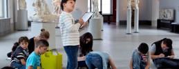 Kindertag im Bode-Museum in Berlin Mitte - SKULPTUR PUR!