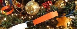 Weihnachtsbasteln, Weihnachtsgirlanden basteln