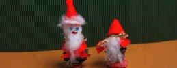 Weihnachtsbasteln, Weihnachtswichtel basteln