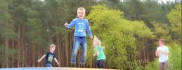 Kindergeburtstag auf dem Spargel- und Erlebnishof Klaistow-Traktor