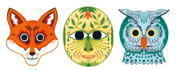 Kinderbuchtipp Zum Fasching Im Wald Der Masken Eine Geschichte