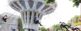 Berliner Volksfestsommer Rasantes Kettenkarussel_Foto Huber
