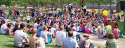 Sommerfest im Museumsgarten des Juedischen Museums Berlin