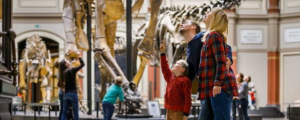 Naturkundemuseum Berlin - der berühmte Sauriesaal