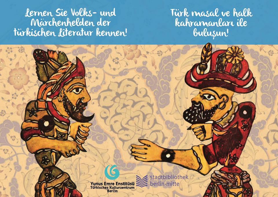 Türkische Volks- und Märchenhelden in der Schiller-Bibliothek