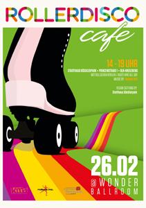 Roller Disco Café im Statthaus Böcklerpark  Berlin Kreuzberg