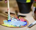 Das Museum Barberini in Potsdam   Kinderkunstaktion - Aktiv und kreativ Kunst erleben - Barberini Kids