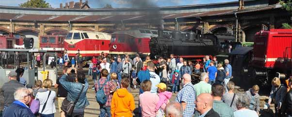 Veranstaltung 16. Berliner Eisenbahnfest im Bahnbetriebswerk Schöneweide