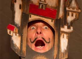 Das ganze Haus verwandelt sich in ein riesiges Puppentheater - zum 22. Puppentheaterfest im FEZ-Berlin!