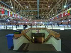 Sportforum Hohenschönhausen - Eislaufbahn und legendärer Ort