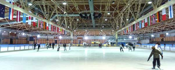 Das Sportforum in Hohenschönhausen in Berlin Lichtenberg ist ein legendärer Ort