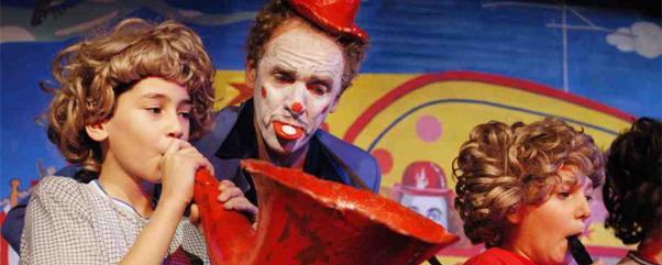"Englisch-Unterricht mal anders! ""The Clown Who Lost His Circus"" am 17. Januar an der Astrid-Lindgren-Bühne im FEZ-Berlin"