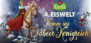 Karls Erlebnis-Dorf Elstal bei Berlin 4. Eiswelt ab 1.12.18: Komm ins Erdbeer-Königreich