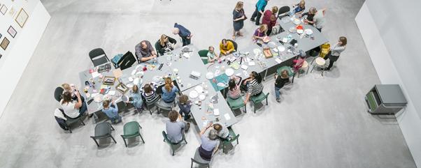 Kuntsonntag für Familien mit Jugend im Museum e.V. in der Berlinischen Galerie