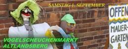 Vogelscheuchenmarkt und offene Höfe in Altlandsberg 2