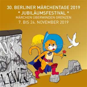 """BERLINER MÄRCHENTAGE 2019 mit dem Motto: """"Märchen überwinden Grenzen"""""""