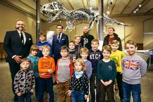 Naturkundemuseum Berlin in Mitte - Ausflugsziel mit Kindern - Tyrannosaurus rex Tristan Otto