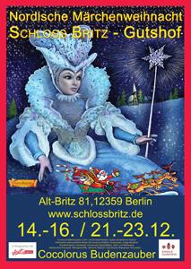 Nordische Märchenweihnacht auf Schloss Britz am 3. und 4. Advent