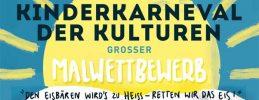 Berliner Kinderkarneval der Kulturen - Macht mit beim großen Malwettbewerb | Mottotier des Jahres: Der Eisbär