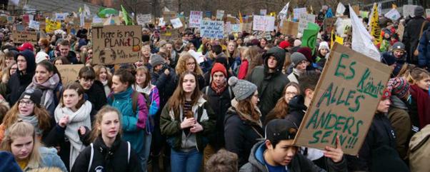 Fridays for Future - erster globaler Schulstreik fürs Klima