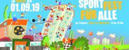 """Zusammen mit dem Fanfarenzug Potsdam und vielen weiteren Partner veranstaltet das Friedrich-Reinsch-Haus das """"Sportfest für Alle""""."""