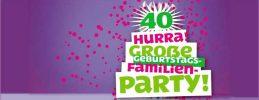 Das FEZ Berlin wird 40 Jahre alt - Kommt zur großen Familien-Geburtstagsparty und feiert mit! Der Eintritt ist frei.