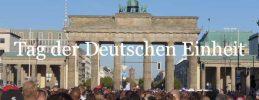 Fest zum Tag der Deutschen Einheit Berlin