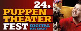 Für Familien mit Kindern ab 2 Jahren 24. Puppentheaterfest Digital und mit euch!