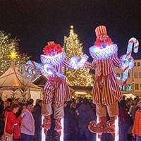 Hennigsdorfer Weihnachtsmarkt mit Kinderprogramm