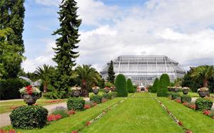 Der Botanische Garten ist im Berliner Stadtteil Steglitz gelegen und zählt zu den größten derartigen Anlagen weltweit