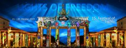 "Festival of Lights in Berlin vom 11. bis 20. September 2020 unter dem Motto: ""Together we shine"""