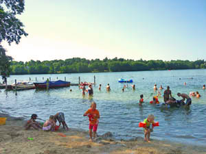 Baden im See Gross Glienicker See