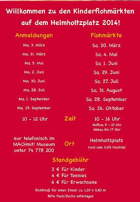 Kinderflohmarkt Am 04 Mai Auf Dem Helmholtzplatz Am Café Kiezkind