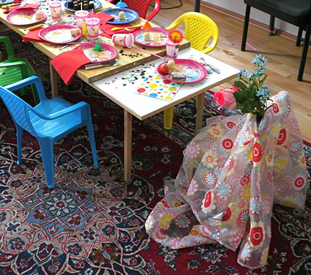 Kindergeburtstag Geschenke Stuhl Hochleben Ytti