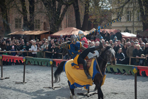 Mittelalterfest und Ritterfest auf Schloss Oranienburg